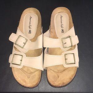 American Eagle Tan Sandals